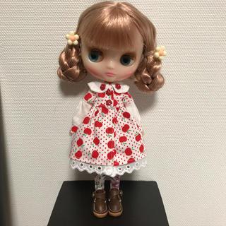 ミディ用 アップルワンピ(人形)