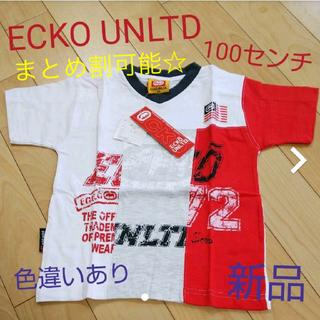 エコーアンリミテッド(ECKŌ UNLTD(ECKO UNLTD))のECKOU NLTD Tシャツ 100センチ(Tシャツ/カットソー)
