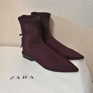 ザラ(ZARA)のZARAショートブーツ(ブーティ)