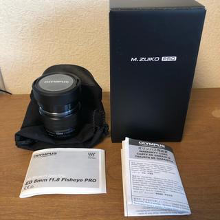 オリンパス(OLYMPUS)のルナ様専用 M.ZUIKO  ED 8mm F1.8 Fisheye PRO(レンズ(単焦点))