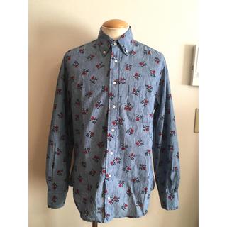 インディヴィジュアライズドシャツ(INDIVIDUALIZED SHIRTS)の美品 GITMAN ギットマン ブラザーズ NY ボタンダウン シャツ XPV(シャツ)