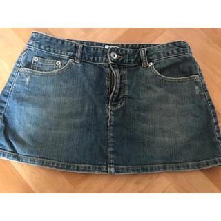 カルバンクライン(Calvin Klein)のデニムスカート Calvin Klein デニムミニスカート(ミニスカート)