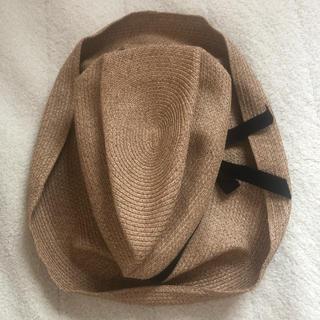 ネストローブ(nest Robe)のmature.ha 麦わら帽子(麦わら帽子/ストローハット)