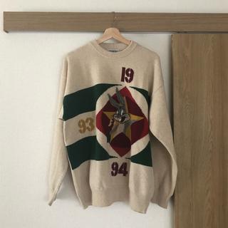 アイスバーグ(ICEBERG)の【ICEBERG】バッグスバニーのセーター (ニット/セーター)