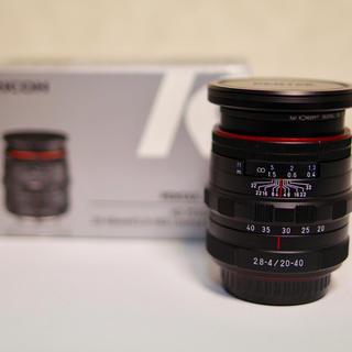 ペンタックス(PENTAX)のPENTAX-DA 20-40mm F2.8-4ED Limited DC WR(レンズ(ズーム))
