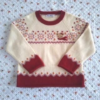 ファミリア(familiar)のfamiliar セーター 110(ニット)