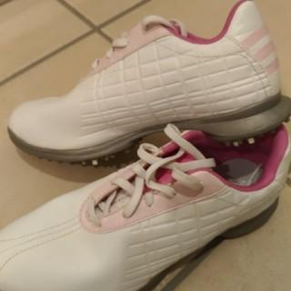 アディダス(adidas)のアディダス レディース ゴルフシューズ 24.5(シューズ)