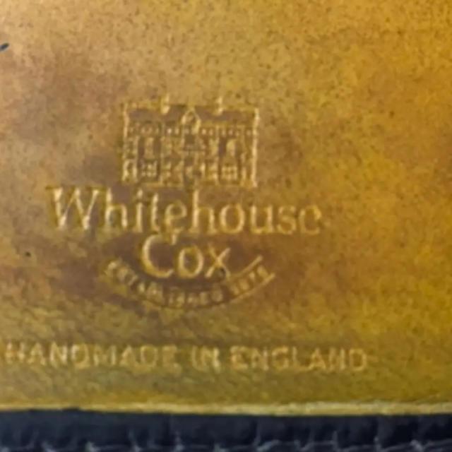 WHITEHOUSE COX(ホワイトハウスコックス)のWhite house cox ホワイトハウスコックス 長財布 ブラック×イエロ メンズのファッション小物(長財布)の商品写真