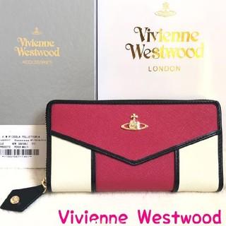 ヴィヴィアンウエストウッド(Vivienne Westwood)のヴィヴィアンウエストウッド 財布 正規品 新品 レディース ピンク ホワイト(財布)