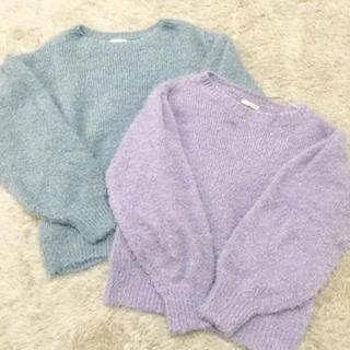 ジーユー(GU)のGU シャギー ニット セーター(ニット/セーター)