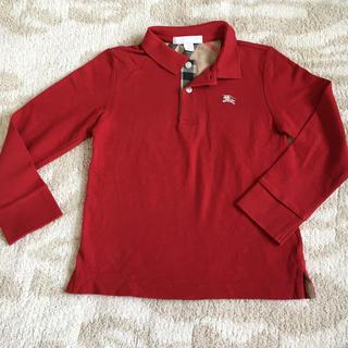 バーバリー(BURBERRY)の美品★バーバリー 長袖シャツ ポロシャツ 4歳 男の子 子供 チルドレン(その他)