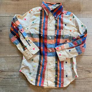 ゴートゥーハリウッド(GO TO HOLLYWOOD)のgotohollywoodドットシャツ100センチ(ブラウス)