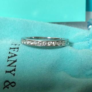 ティファニー(Tiffany & Co.)のティファニー ハーフエタニティーリング(リング(指輪))