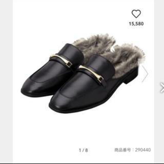 ジーユー(GU)のGU フェイク ローファースリッパ(ローファー/革靴)
