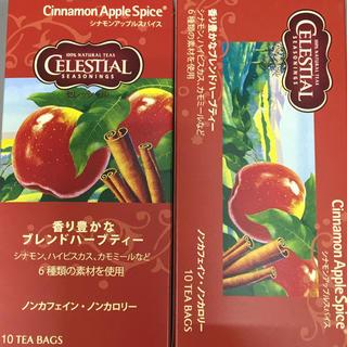ハーブティー*シナモンアップルスパイス2箱(茶)