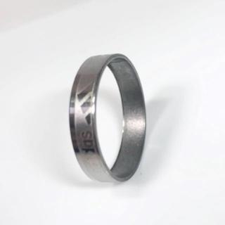 アディダス(adidas)のadidas ステンレスリング 22号 指輪(リング(指輪))