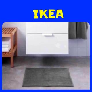 イケア(IKEA)のIKEA  BADAREN  バスマット グレー(バスマット)