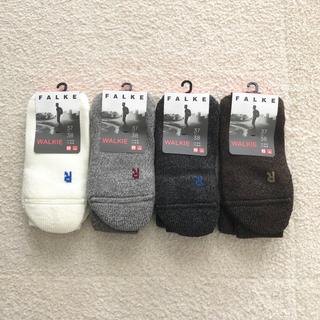 ビューティアンドユースユナイテッドアローズ(BEAUTY&YOUTH UNITED ARROWS)の新品 FALKE  WALKIE ファルケ 靴下 37-38 Bshop(ソックス)