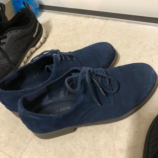 ナノユニバース(nano・universe)のナノユニバース 革靴 スウェードシューズ 美品(ドレス/ビジネス)