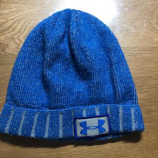 アンダーアーマー(UNDER ARMOUR)のアンダーアーマー    ニット帽  キッズ(帽子)