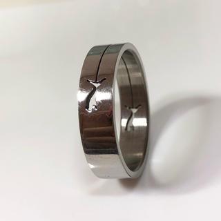 プーマ(PUMA)のPUMA ステンレスリング 24号 指輪(リング(指輪))