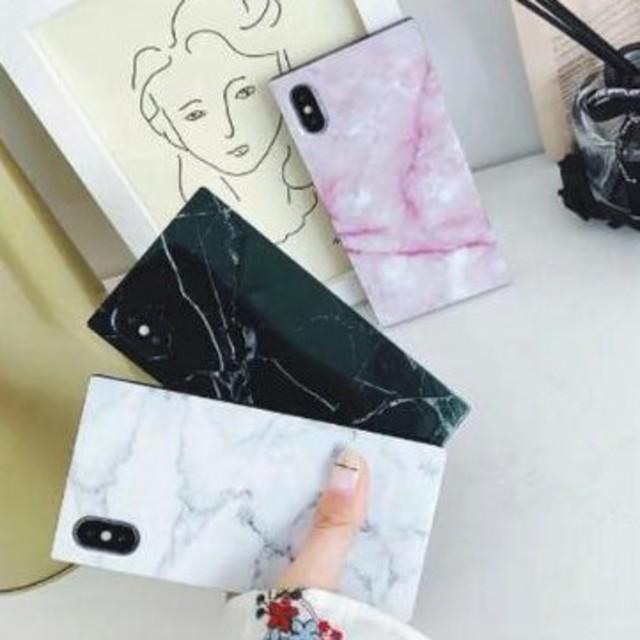iphone7 ケース さらさら | 新品 大理石風マーブル柄iPhoneケース 選べる3色の通販 by すなふきん's shop|ラクマ