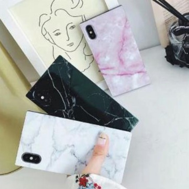 Iphone7 ケース 選び方 | 新品 大理石風マーブル柄iPhoneケース 選べる3色の通販 by すなふきん's shop|ラクマ
