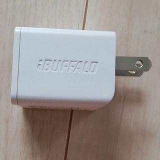 バッファロー(Buffalo)のセールBUFFALO USB充電器 2.4A急速 充電器 BSMPA2404LC(バッテリー/充電器)
