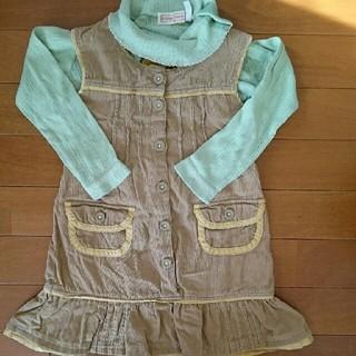 オレンジボンボン(Orange bonbon)のオレンジボンボン  ジャンパースカート&インナー   セット(スカート)