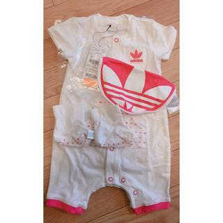 アディダス(adidas)のadidas baby服 3点セット(ロンパース)