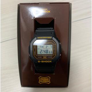 スタンダードカリフォルニア(STANDARD CALIFORNIA)のStandard California×G-SHOCK 数回着用 美品 キムタク(腕時計(デジタル))