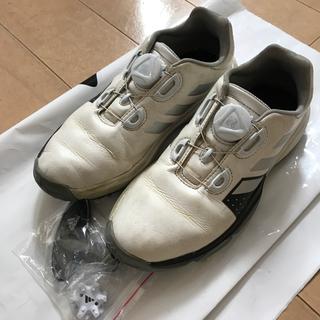 アディダス(adidas)のお値下げ アディダス ジュニアゴルフシューズ  21cm(シューズ)