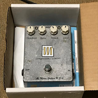 Miura guitars compression m2 (ベースエフェクター)