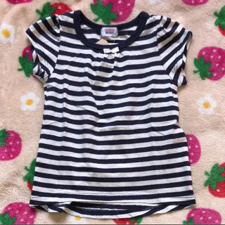シマムラ(しまむら)の☆新品☆ しまむら Tシャツ 80 ボーダー(Tシャツ)