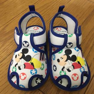 ディズニー(Disney)の美品★ベビーサンダル ミッキー13cm(サンダル)