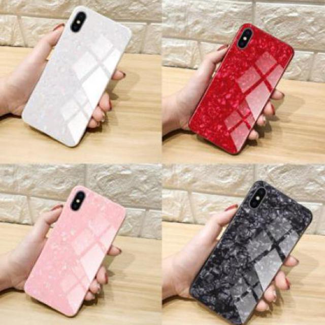 エルメス iphone7 ケース 財布型 | アイフォンケース☆ガラスシェル☆ユニセックス☆4カラー☆iPhone7.8.Xの通販 by shima♡'s shop|ラクマ