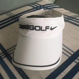 ナイキ(NIKE)のゴルフ 帽子 サンバイザー(その他)