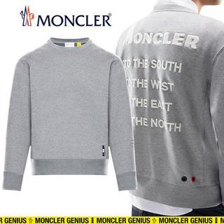 モンクレール(MONCLER)の【7】MONCLER 18AW グレー トレーナー/スウェット size S(スウェット)