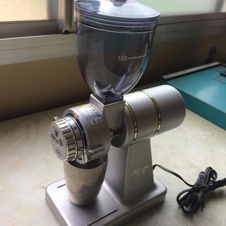 カリタ(CARITA)のカリタ★ナイスカットミル KH-100 シルバー(清掃済み)(電動式コーヒーミル)