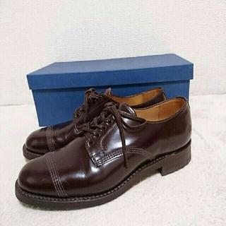 サンダース(SANDERS)の【新品】SANDERS militaly derby shoe GB5(ローファー/革靴)