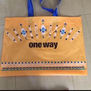 ワンウェイ(one*way)のoneway ショップ袋(ショップ袋)