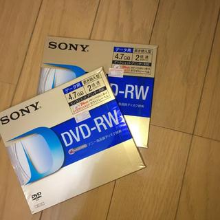 ソニー(SONY)のDVD-RW データ用(DVDレコーダー)