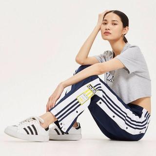 アディダス(adidas)のアディダス トラック パンツ ユニセックス ネイビー 新品 adidas(カジュアルパンツ)