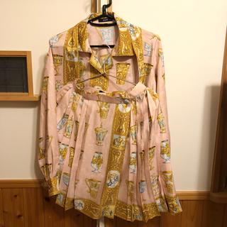 バブリーダンス衣装 バブルスーツセット Mサイズ(スーツ)