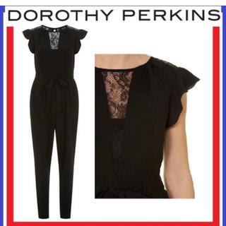 ドロシーパーキンス(DOROTHY PERKINS)のドロシーパーキンス♡レースオールインワン ジャンプスーツ コンビネゾン イギリス(オールインワン)