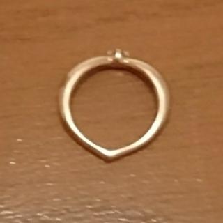 18Kピンクゴールド ダイヤモンド✨✨ピンキーリング (リング(指輪))