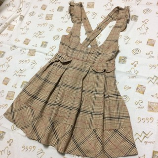 リズリサ(LIZ LISA)のLIZ LISA★チェック柄スカート(ひざ丈スカート)
