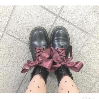 ドクターマーチン(Dr.Martens)のドクターマーチンリボン紐 140cm 未使用(ブーツ)