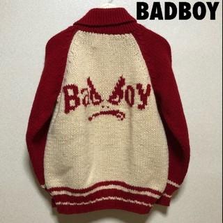 バッドボーイ(BADBOY)の4108 90s BADBOY バッドボーイ カウチン セーター(ニット/セーター)