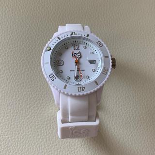 アイスウォッチ(ice watch)のice watch ホワイト 腕時計(腕時計)
